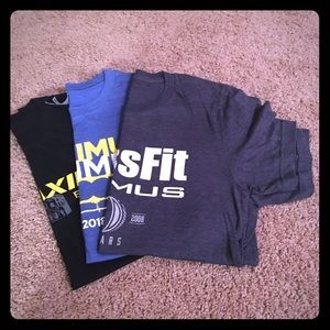 GUC: CrossFit T-shirt Bundle. 3 shirts. Size Small